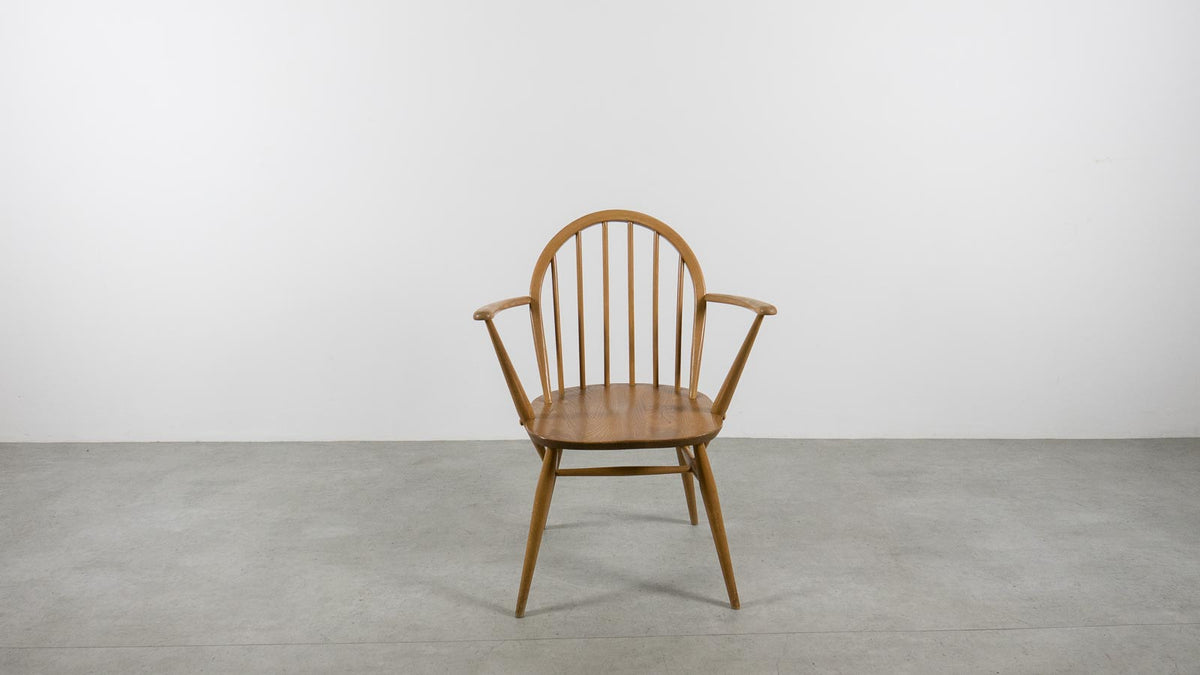 Ercol Windsor carver dining chair
