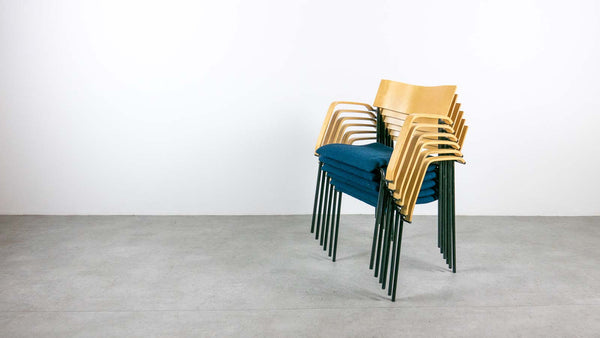 Bentwood stacking chairs
