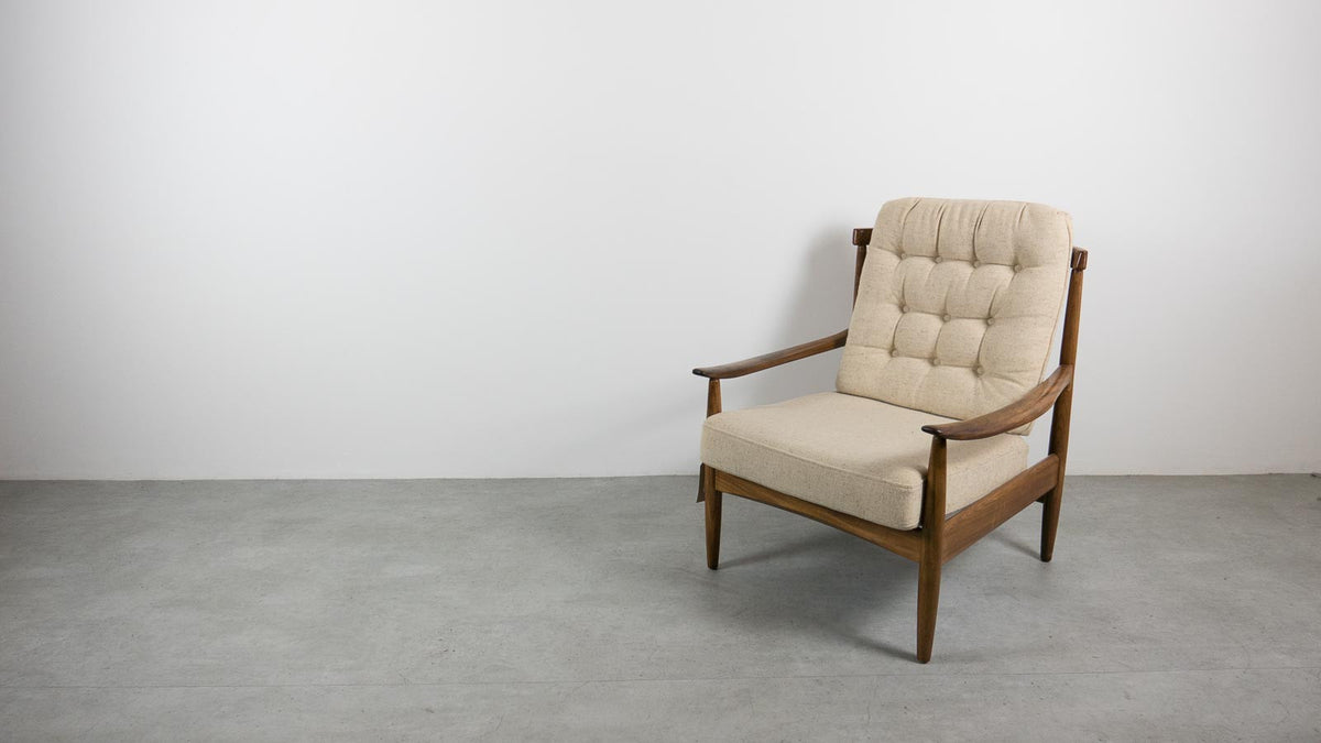 Greaves and Thomas teak armchair