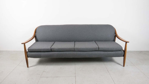 mid-century sofa bed