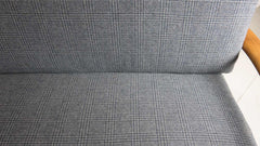 Grete Jalk re-upholstered gingham lounge