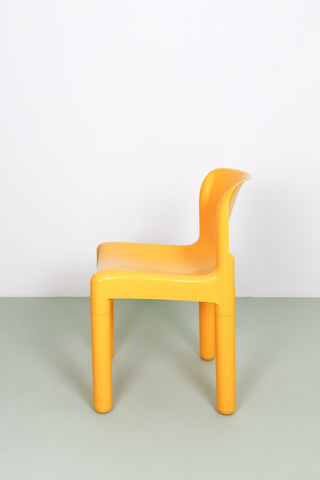 Yellow Kartell 4875 chair