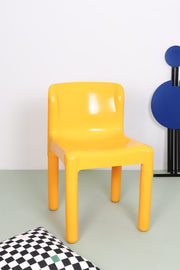 Yellow Kartell chair