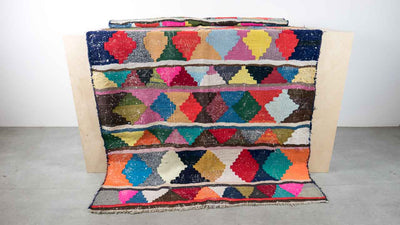 Kilim with geometric patters