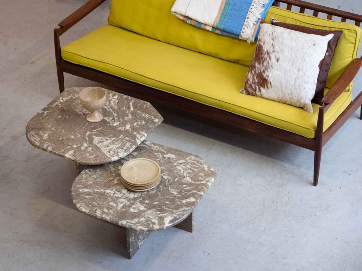 Vintage marble coffee tables London