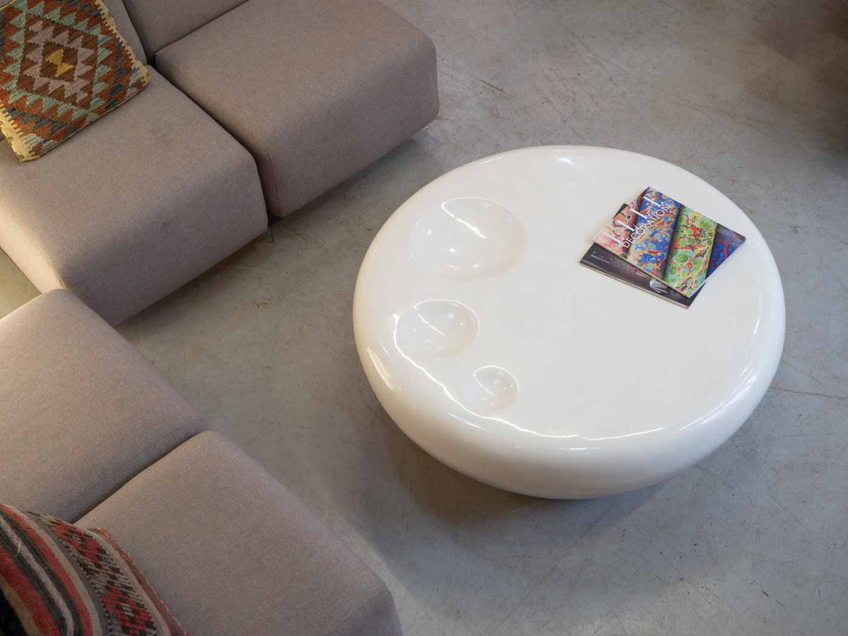 White Italian coffee table