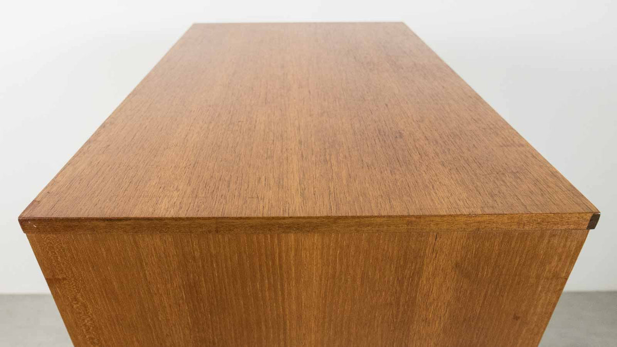 teak MCM chest of drawers