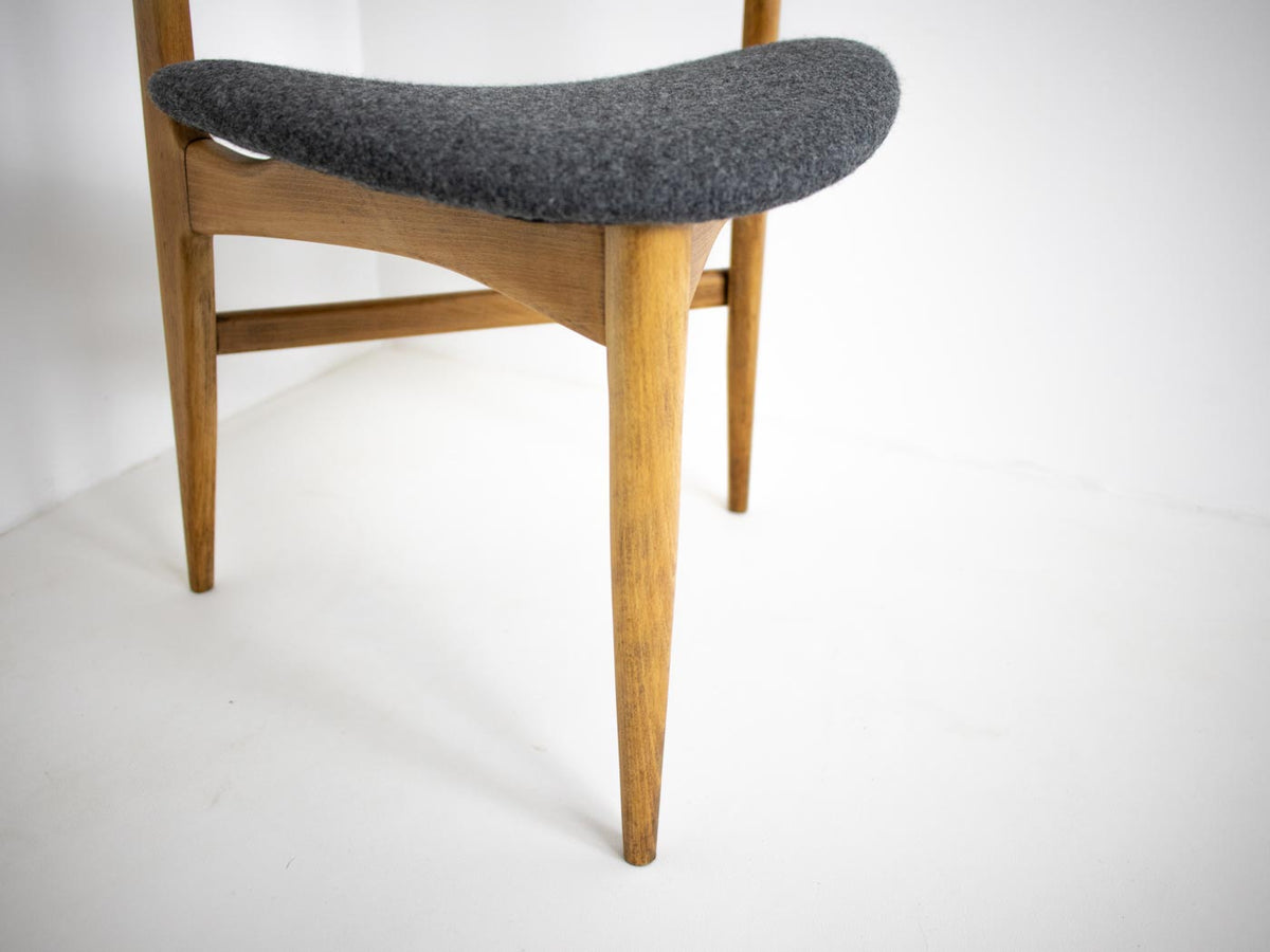 Mid Century Triangle Dining Chair