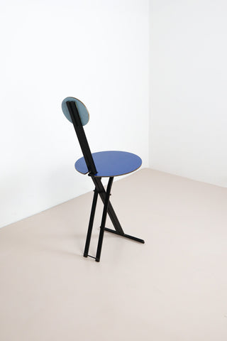 Colourful Memphis stool