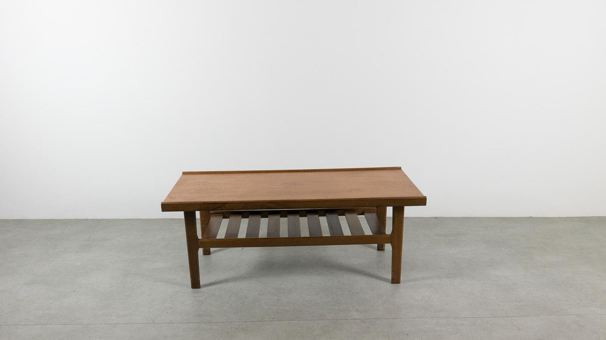 MCM coffee table with rack