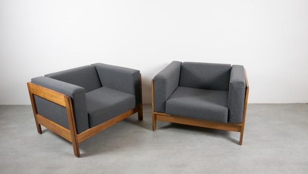 MCM cube chairs