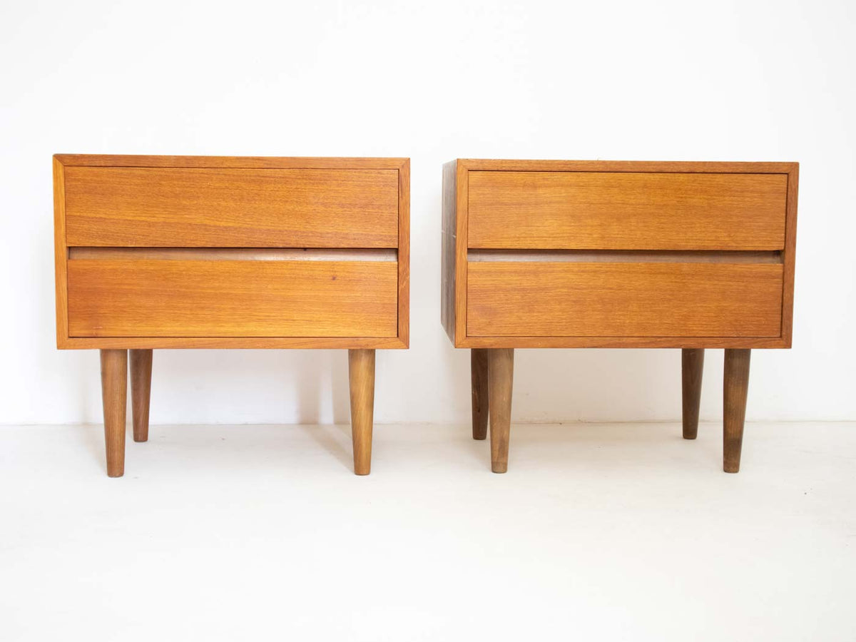 Danish Modern bedside tables