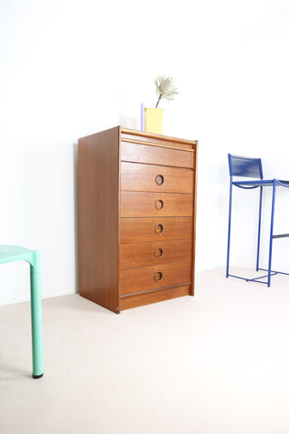 vintage tallboy chest of drawers London
