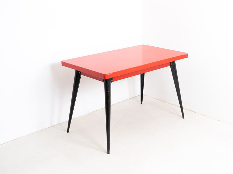 Original Model 55 Table by Pauchard for Tolix