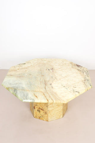 Octagonal Marble Coffee Table