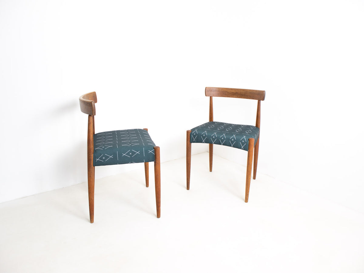 Danish mid century dining chairs