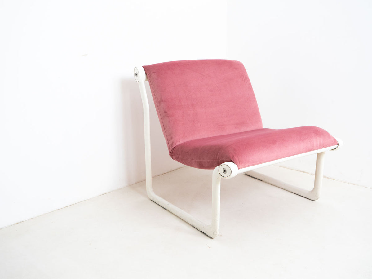 Retro knoll sling chair