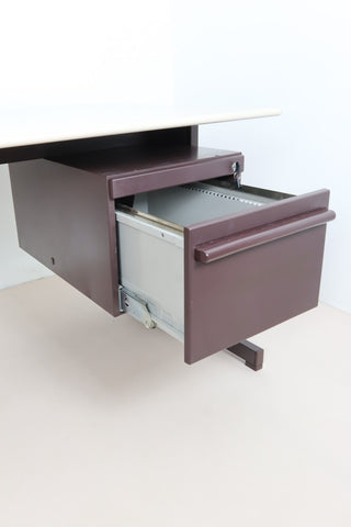 Ettore Sottsass Olivetti Synthesis Series 45 Desk