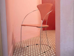 Retro pink chair