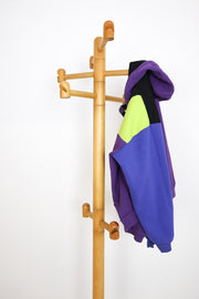 Swedish Pine Coat Rack 1970s