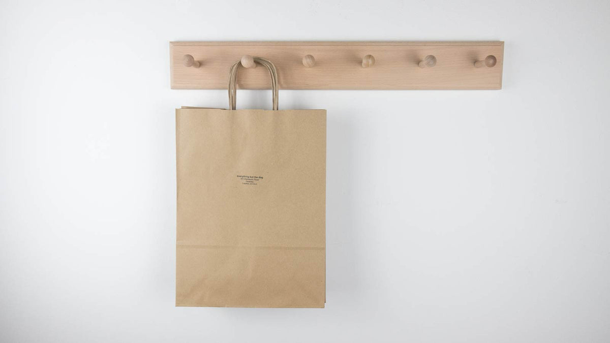 shaker pegs with bag