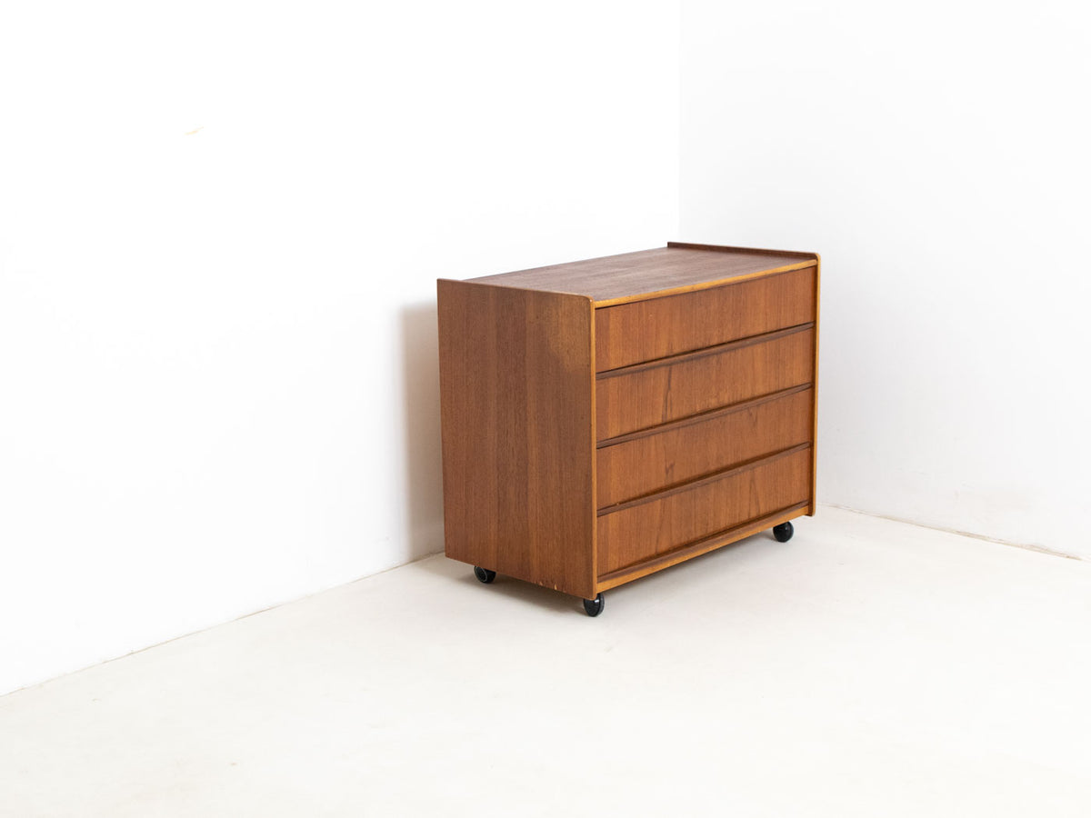 Scandinavian modern bedside table