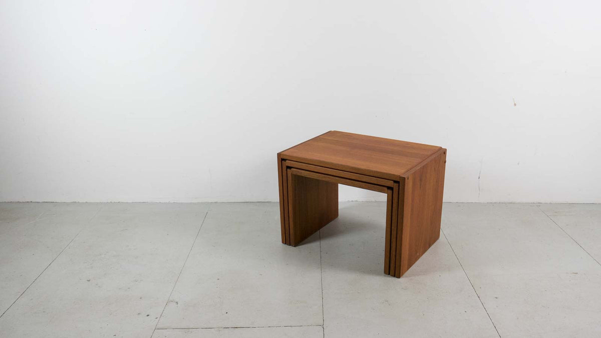 Danish Modern nest of tables