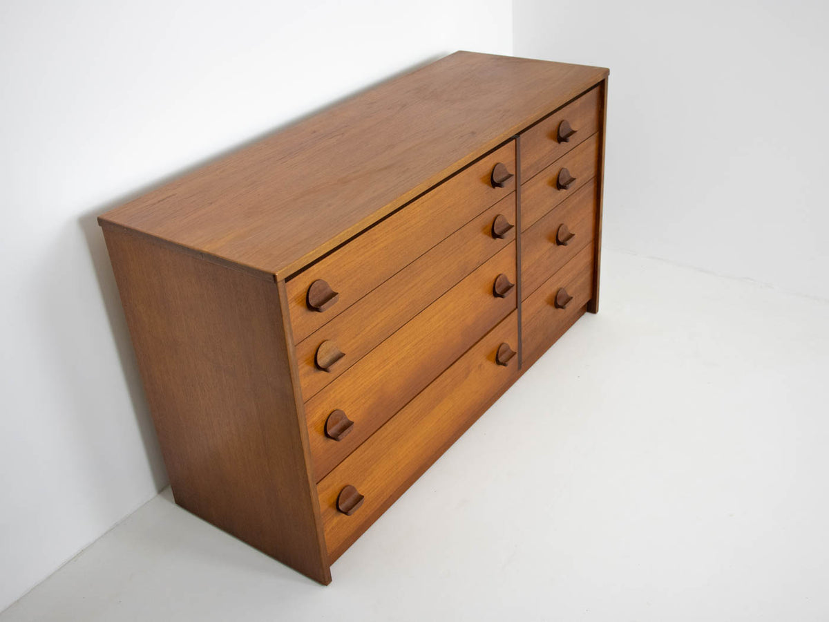 MCM Stag chest of drawers