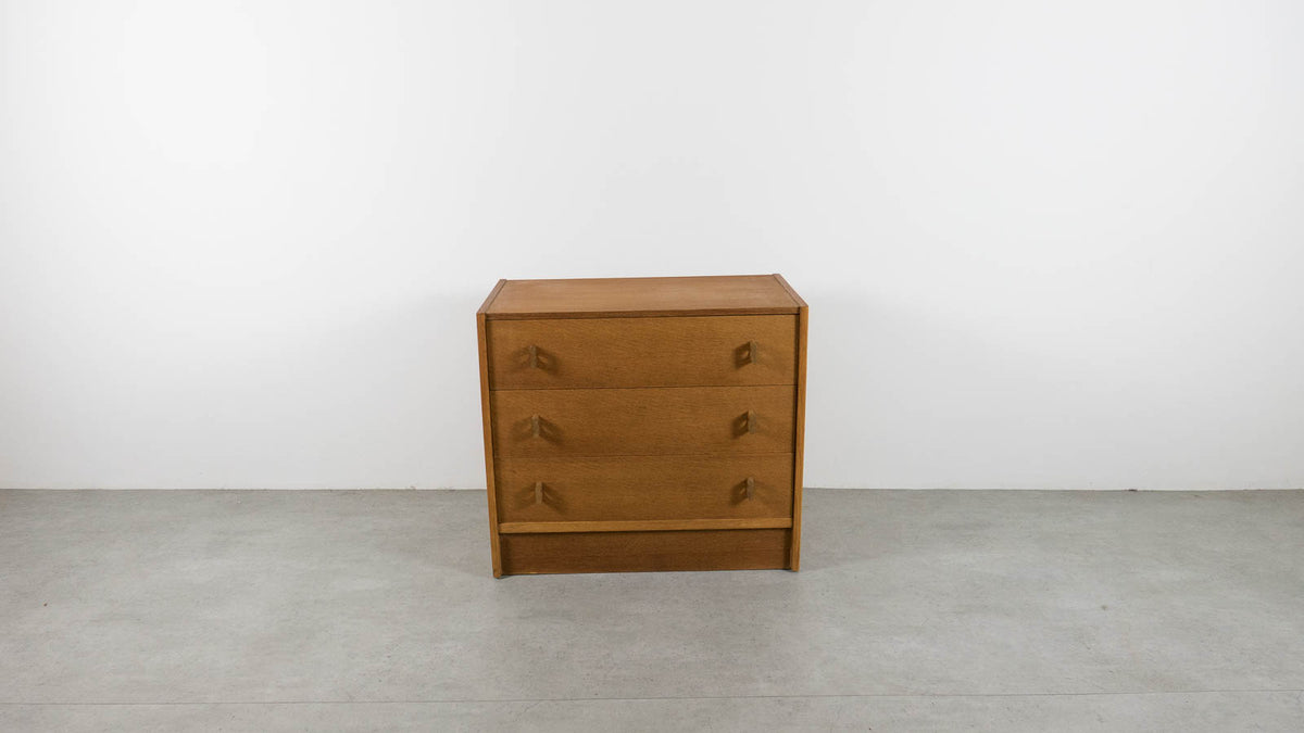 Mid-century modern Stag chest of drawers