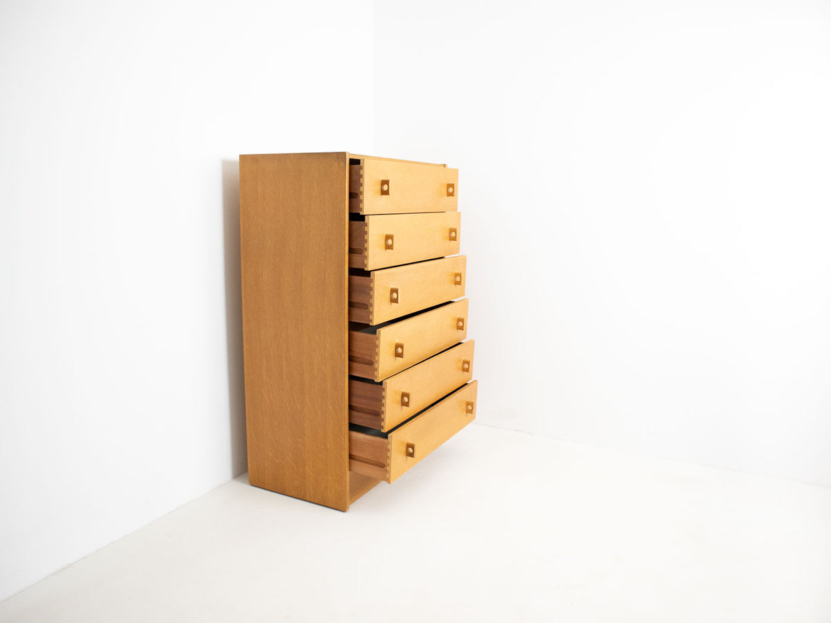 Stag tallboy chest of drawers