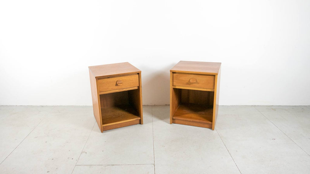 Stag Bedside Tables - Teak