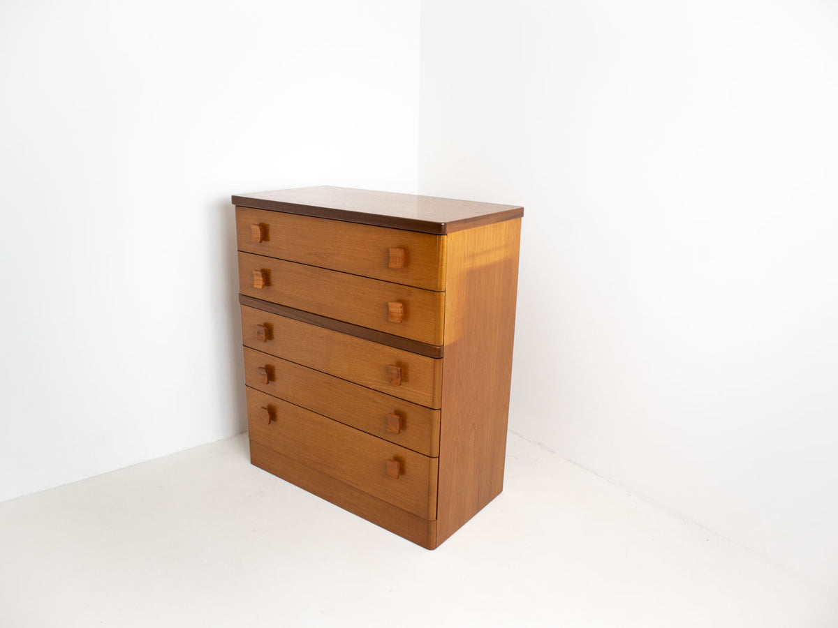 Mid century drawer set