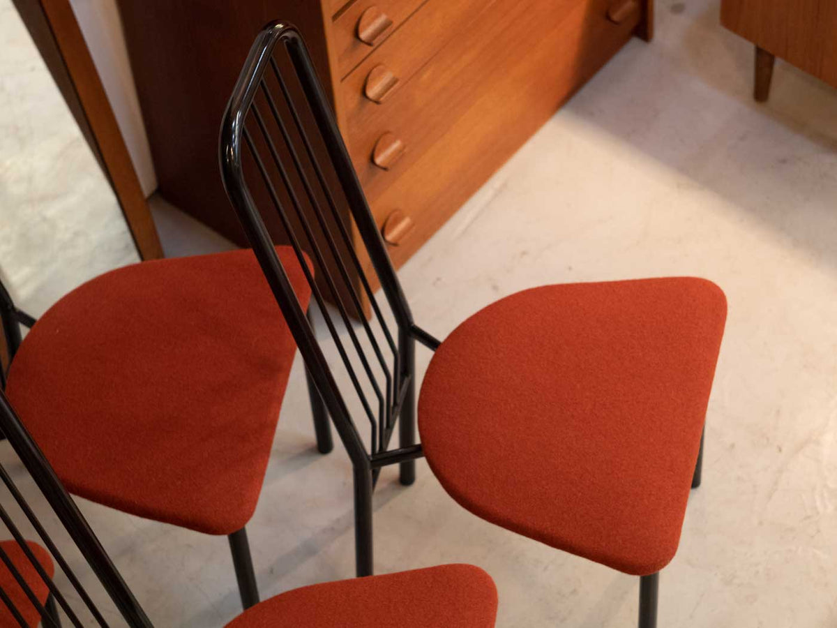 Unusual vintage dining chairs