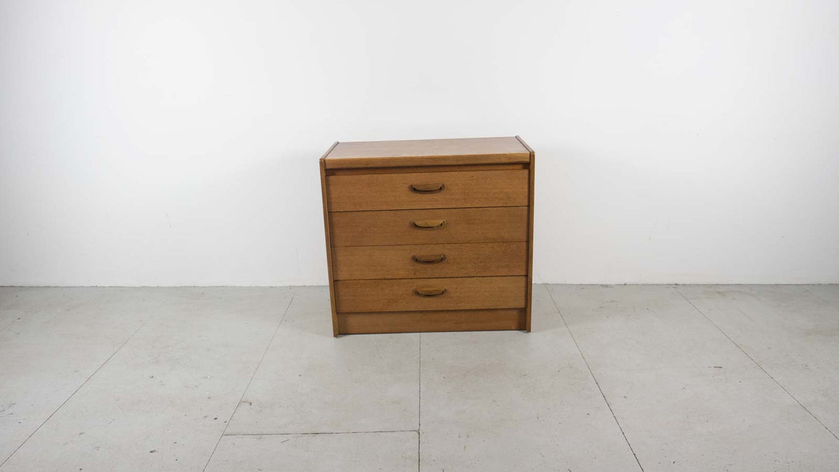 mid-century teak drawer set