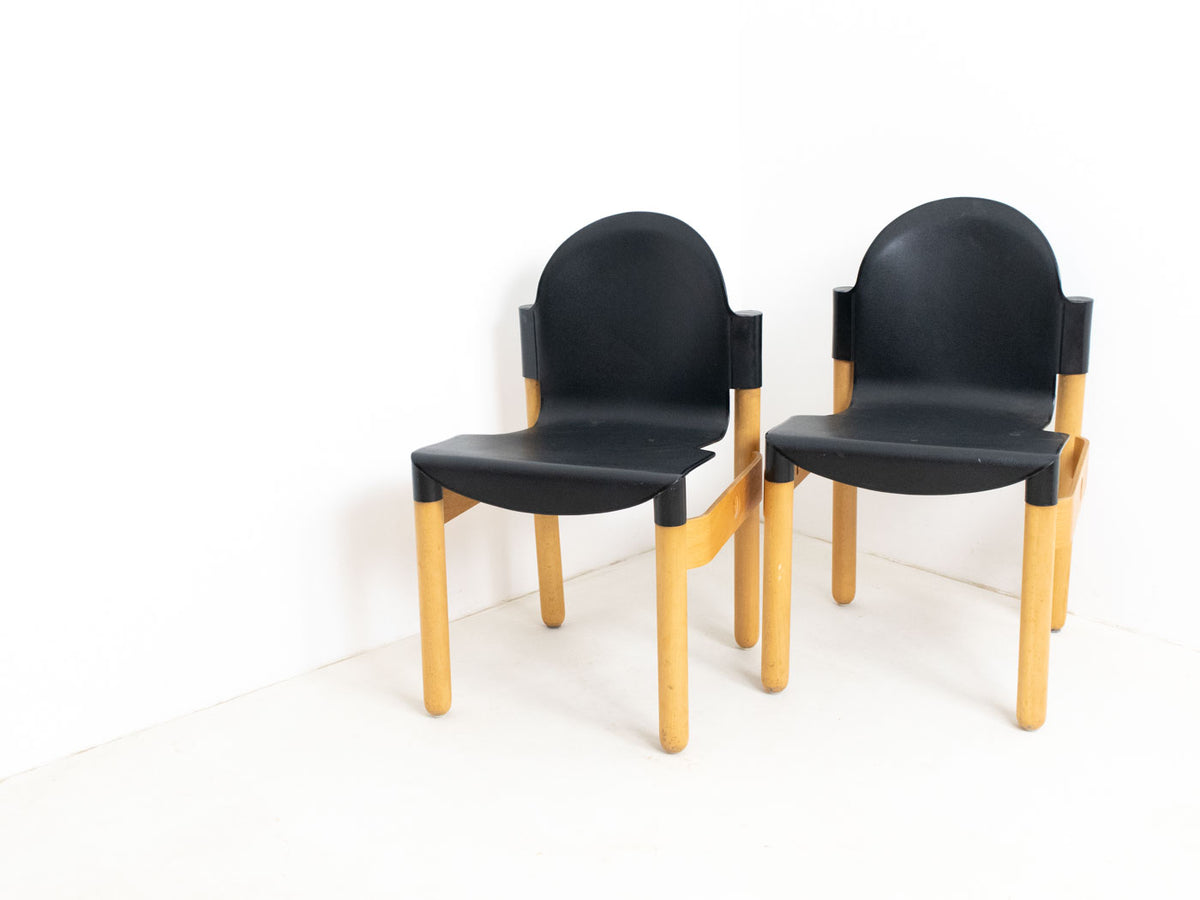 Vintage Thonet stacking chairs