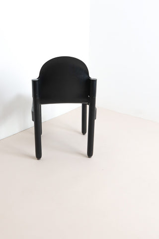 Thonet Flex 2000 Stacking Chairs - Black