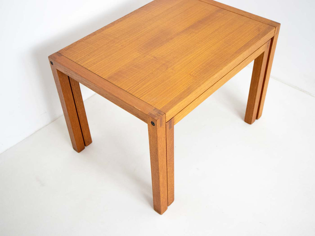 mid century nested tables
