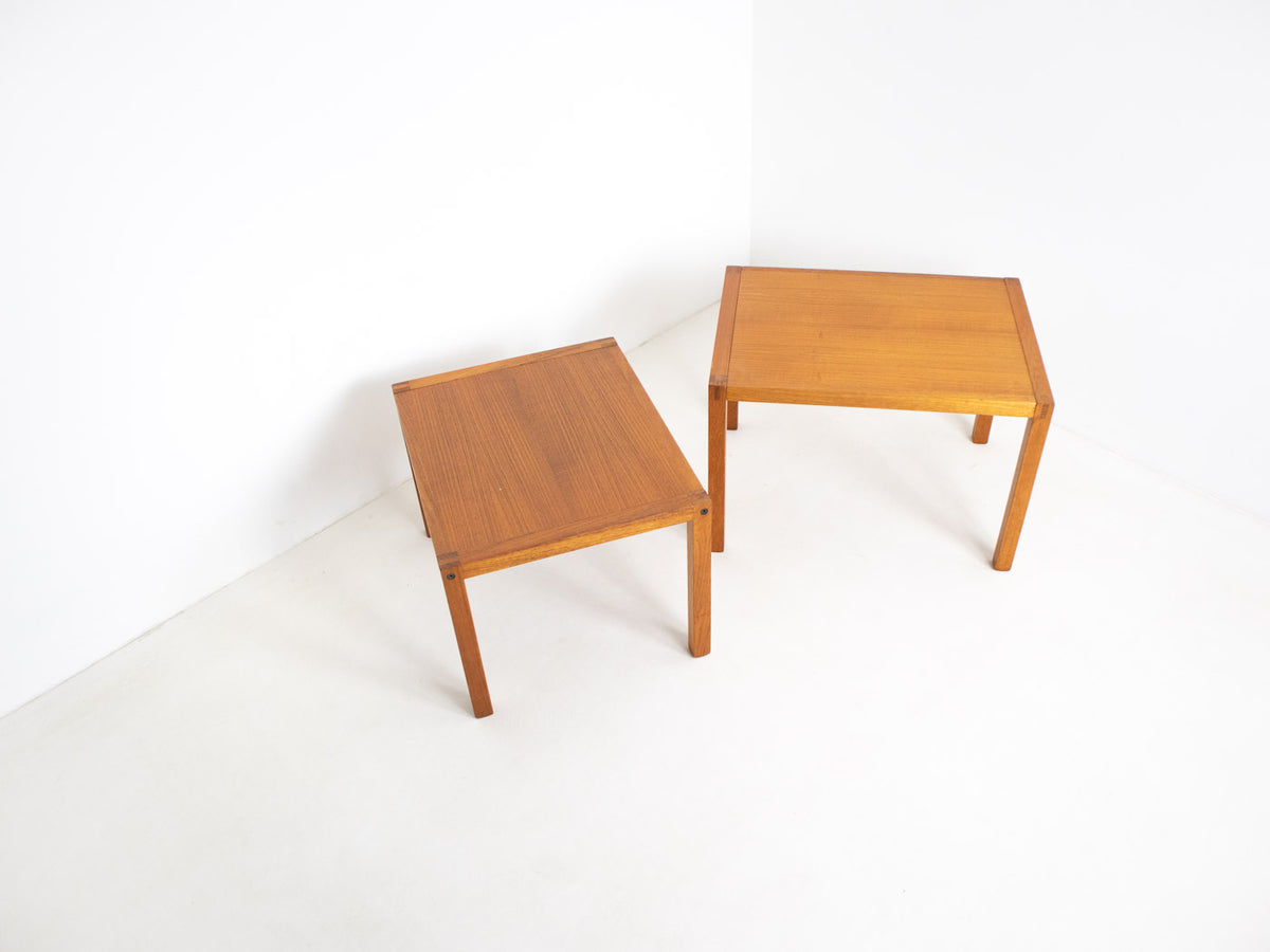 Vintage Danish nested tables