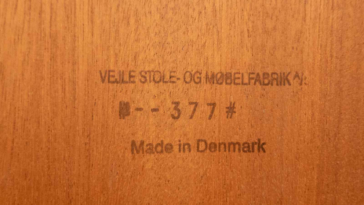 Vejle Stole & Møbelfabrik Square Coffee Table - Rosewood