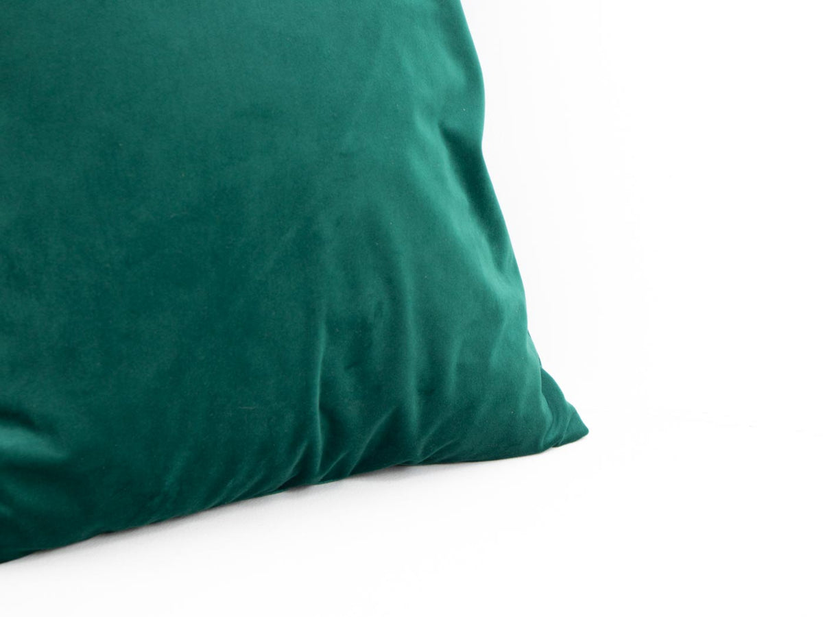EBTD dark green velvet cushion
