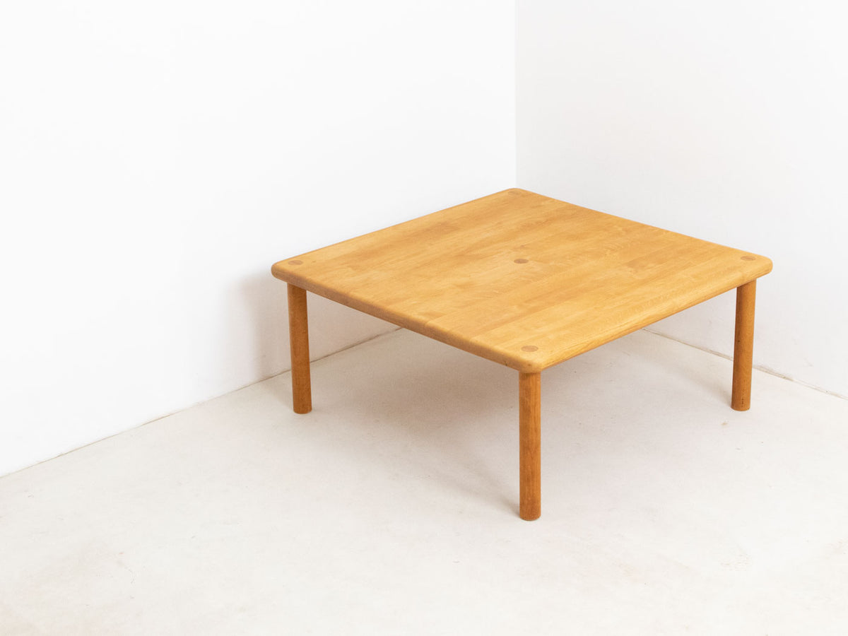 Vintage Square Beech Coffee Table