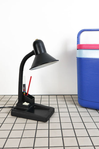 80's Desk Lamp with Organiser