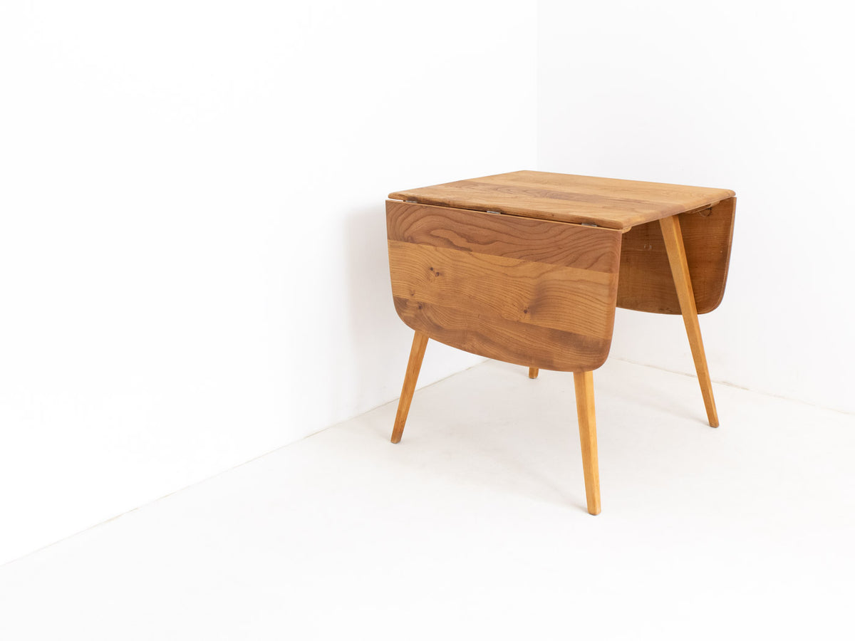 Original Ercol plank drop-leaf