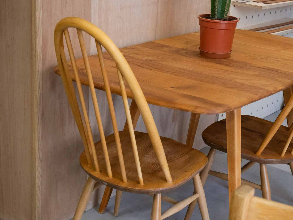 Vintage Ercol dropleaf dining table