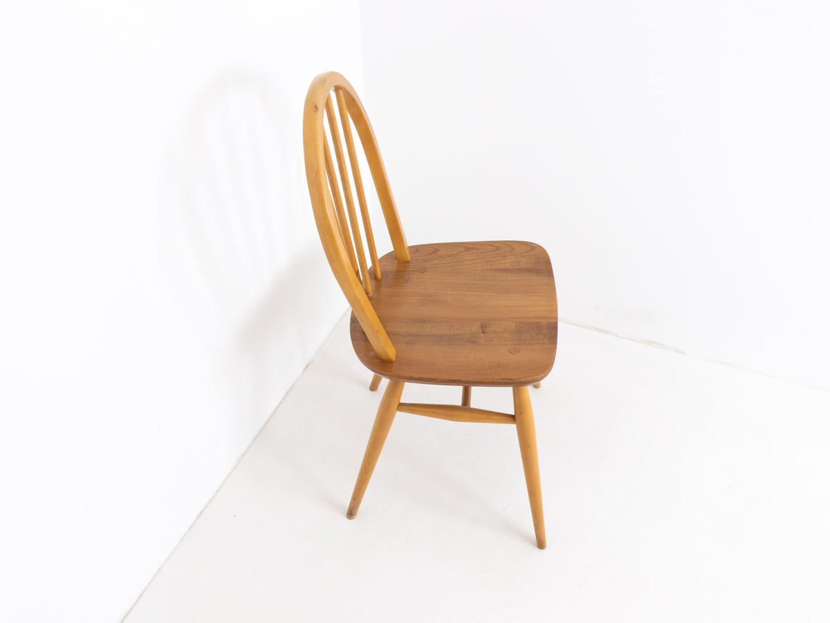 Vintage solid wood dining chair