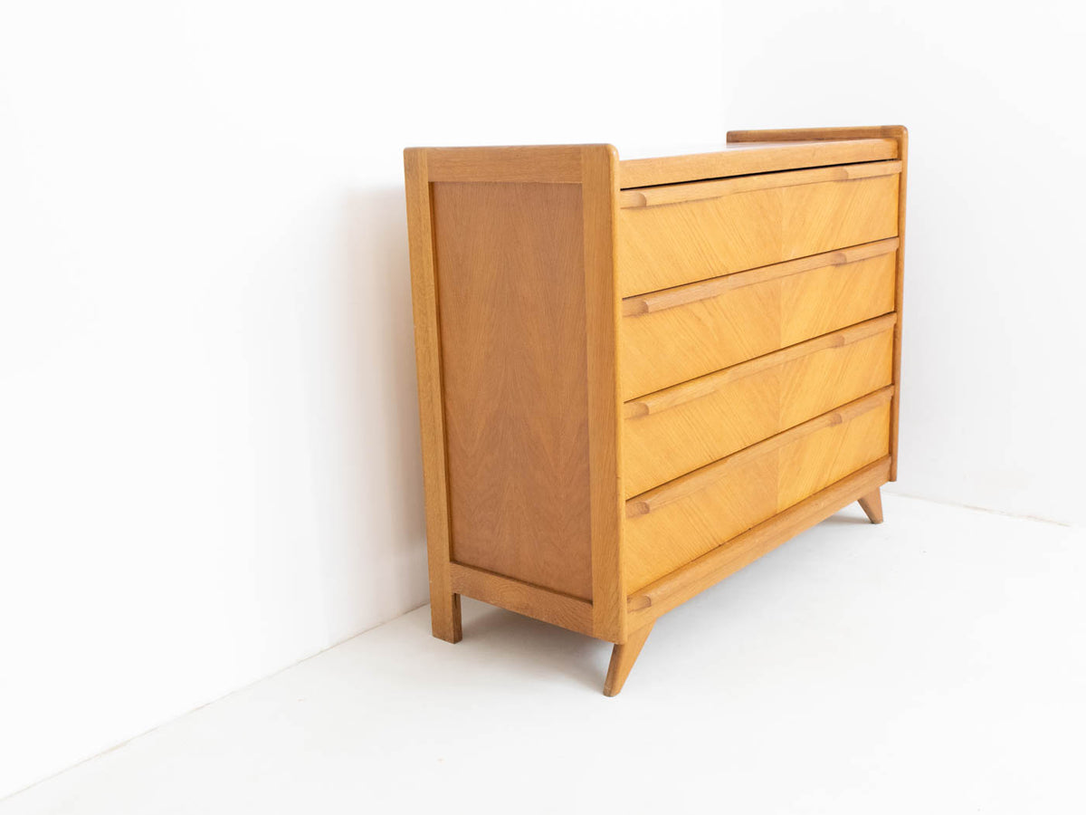 Mid century modern oak chest of drawers