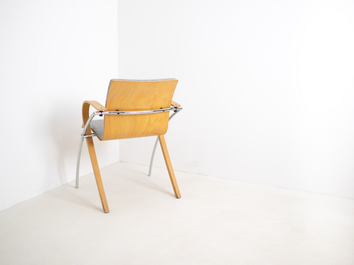 Vintage Fröscher Chair - Grey