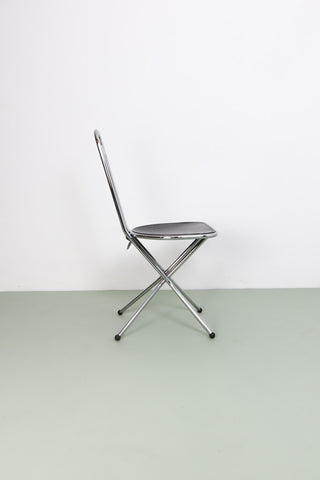 80's Folding Chair by Neils Gammelgard for Ikea