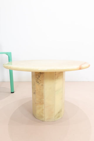 Cream Marble Coffee Table