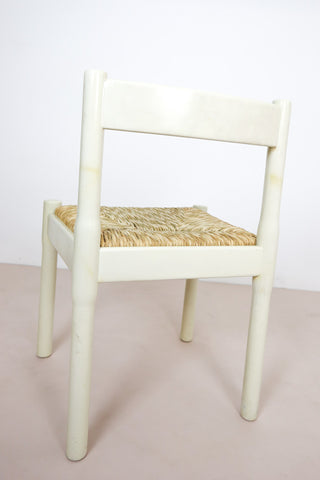 white Vico Magistretti chair London